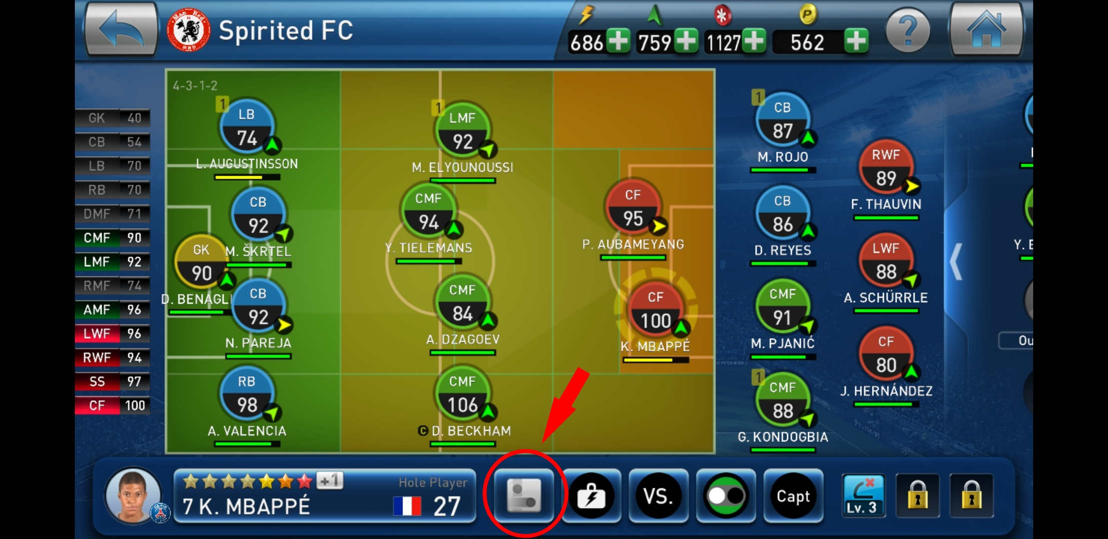 PES Club Manager for beginners: Player attributes – The