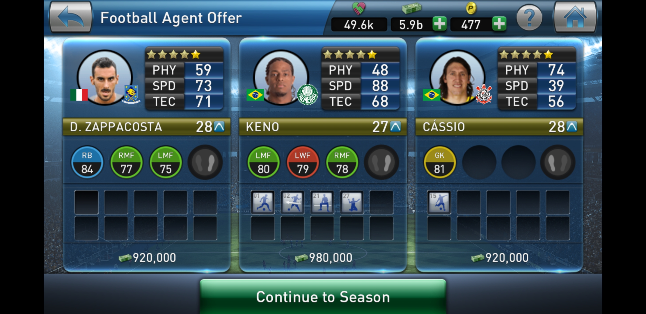 PES Club Manager for beginners: Acquiring players – The